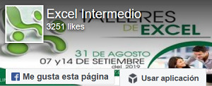 Facebook Excel Intermerdio